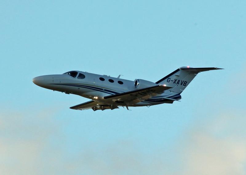 G-XAVB Cessna 510 Citation Mustang (Edinburgh) Aviation Beauport Limited 2