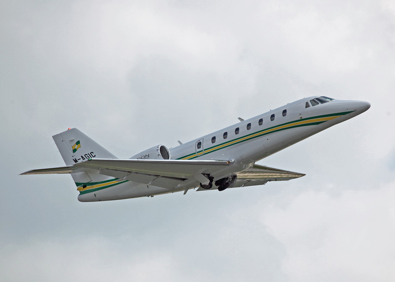 M-AGIC Cessna Citation Soverign 680 (MAN) Trust Air Ltd - Westair Flying Services Ltd 2