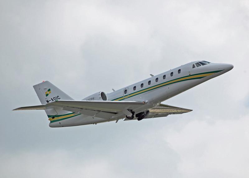 M-AGIC Cessna Citation Soverign 680 (MAN) Trust Air Ltd - Westair Flying Services Ltd 2