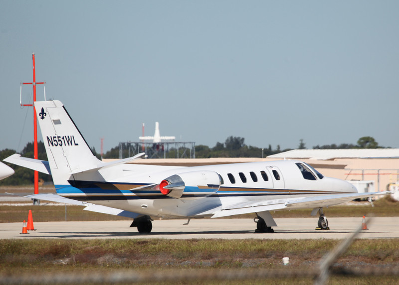 N551WL Cessna 550 Citation II (SRQ) Private