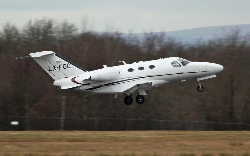LX-FGC Cessna 510 Citation Mustang (unknown location) Flying Group (FYG)