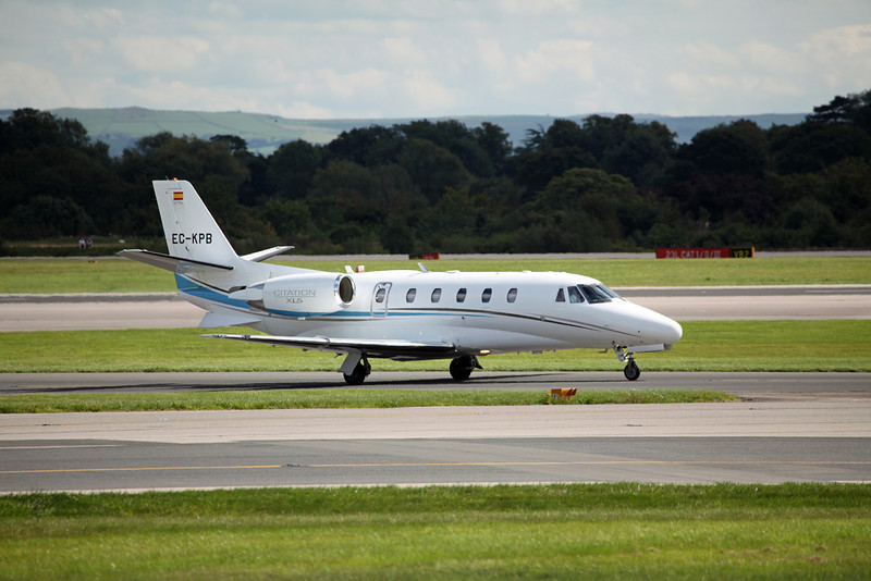 EC-KPB Cessna 560XL Citation XLS C56X 560 (MAN) Jetnova 3