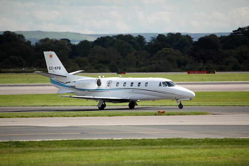 EC-KPB Cessna 560XL Citation XLS C56X 560 (MAN) Jetnova 3