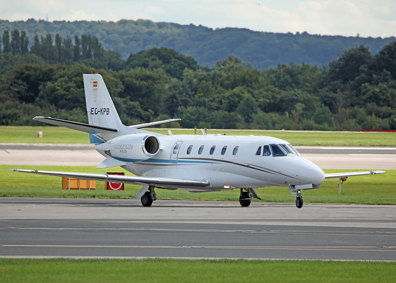 EC-KPB Cessna 560XL Citation XLS C56X 560 (MAN) Jetnova 2