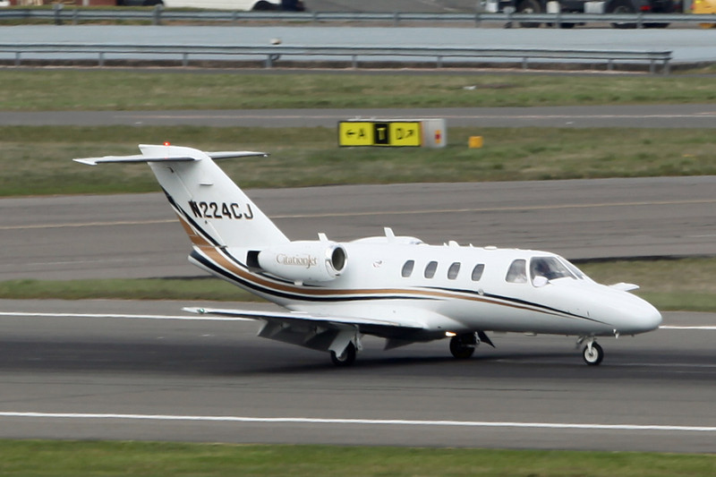 N244CJ Cessna Citation 525A (Birmingham) Cessna Aircraft Corp