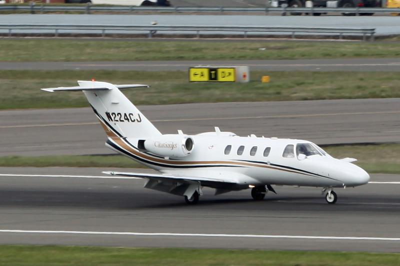 N244CJ Cessna Citation 525A (Birmingham) Cessna Aircraft Corp