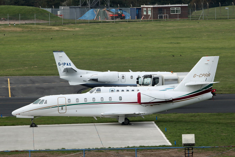 G-CPRR Cessna 680 Citation Sovereign (Birmingham) Twinjet Aircraft Sales Ltd