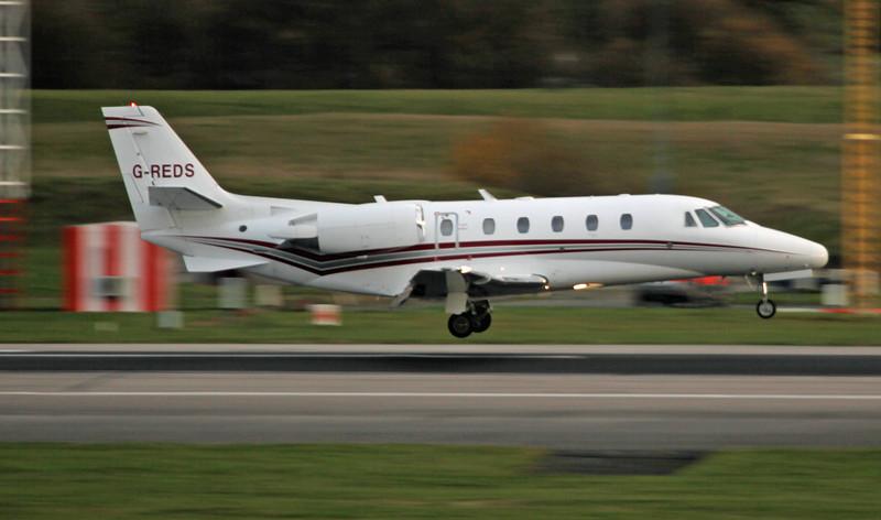 G-REDS Cessna 560XL Citation Excel (MAN) Bridge Aviation Limited