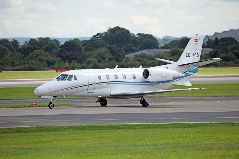 EC-KPB Cessna 560XL Citation XLS C56X 560 (MAN) Jetnova