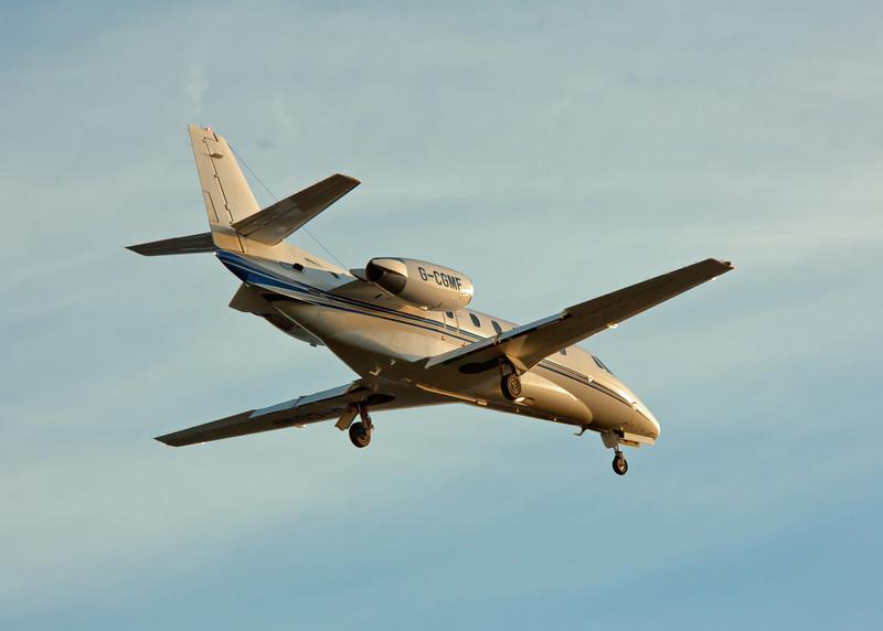 G-CGMF Cessna Citation 560 Excel (Glasgow Airport) Multi-Flight Charter Services [3]