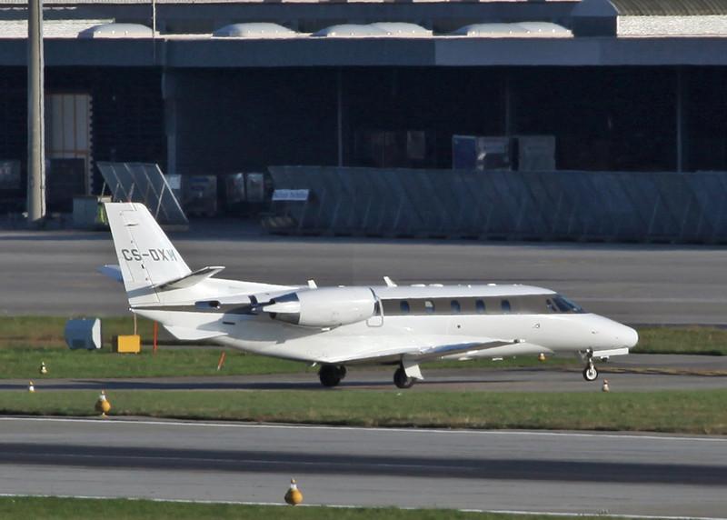 CS-DXH Cessna 560XLS Citation XLS (Zurich) NetJets Europe
