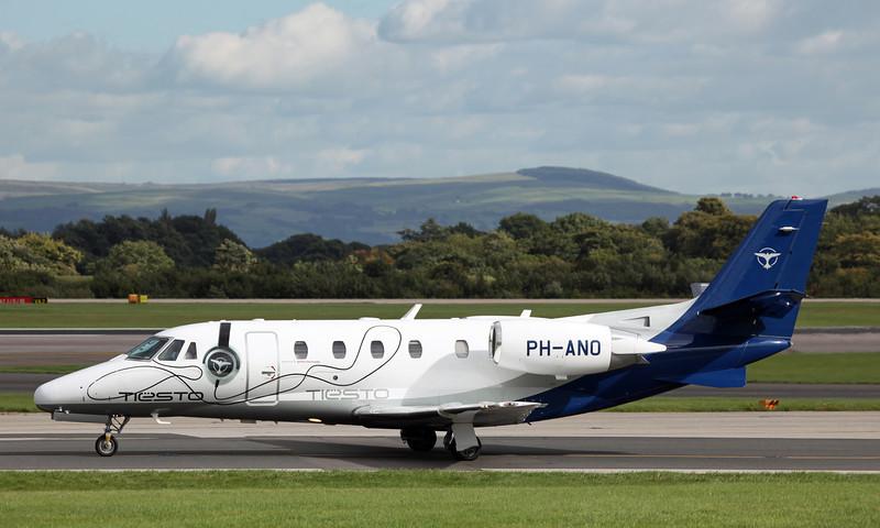 PH-ANO Cessna 560XLS Citation Excel (MAN) JetNetherlands bv