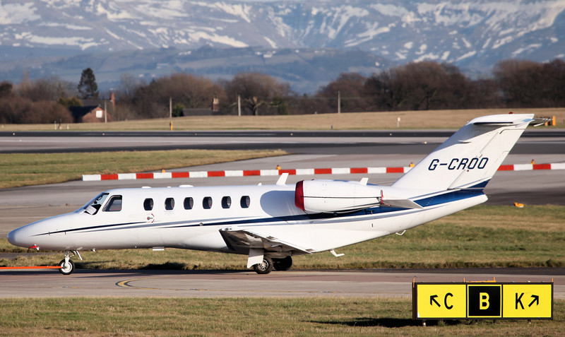 G-CROO Cessna 525A CitationJet CJ2  (MAN) Hangar 8 limited [1]