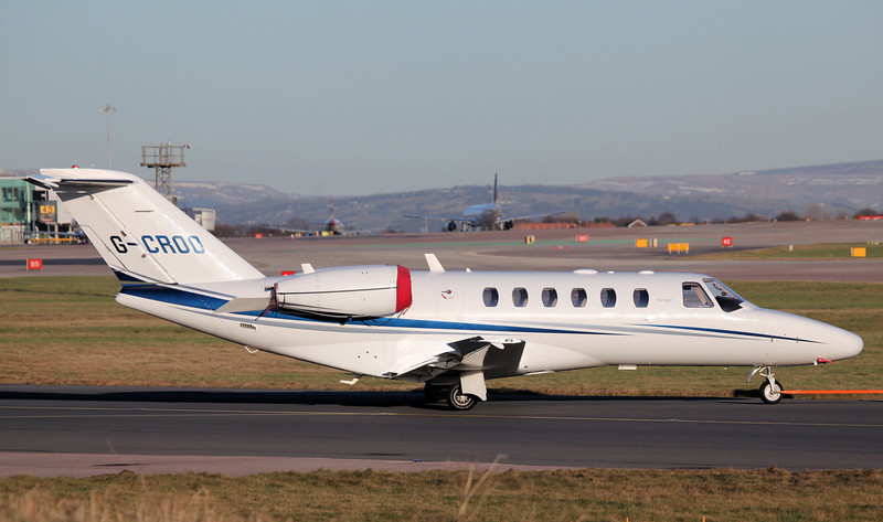 G-CROO Cessna 525A CitationJet CJ2  (MAN) Hangar 8 limited [2]