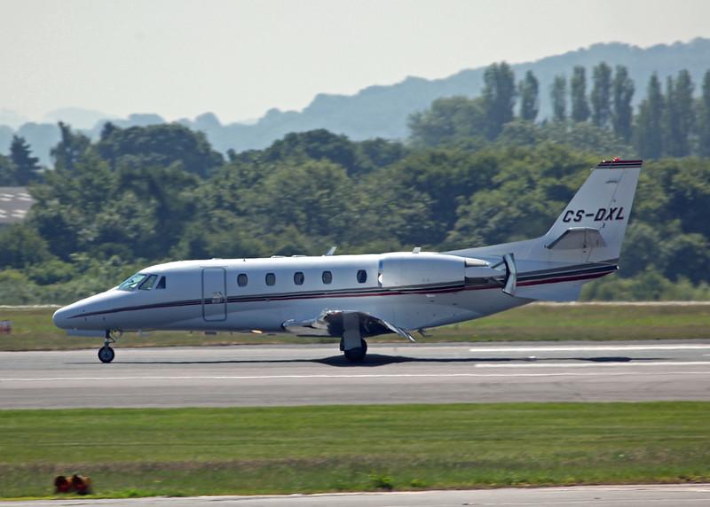 CS-DXL Cessna 560XLS Citation Excel (MAN) NetJets Europe (NJE)
