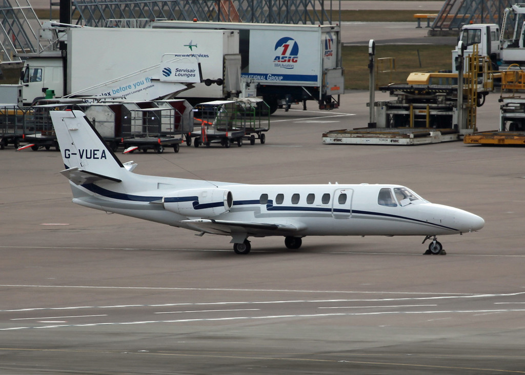 G-VUEA CESSNA 550 (MAN) AD Aviation Limited