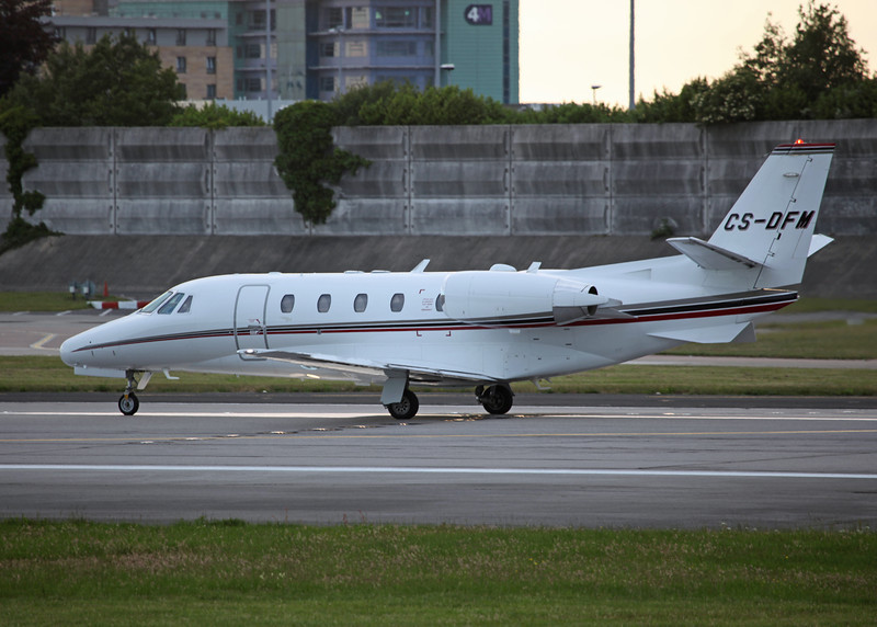 CS-DFM Cessna 560XL Citation Excel (MAN) NetJets Europe (NJE)