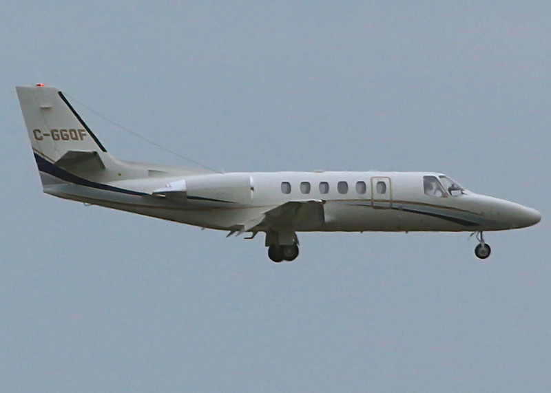 C-GGQF Cessna 550 (Vancouver International) Omega Air Corporation