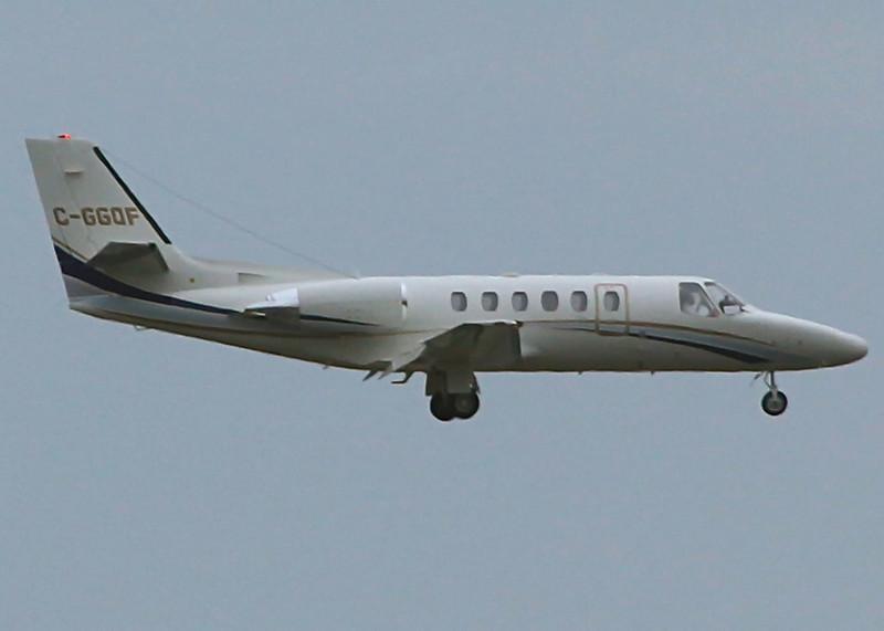 C-GGQF Cessna 550 (Vancouver International) Omega Air Corporation