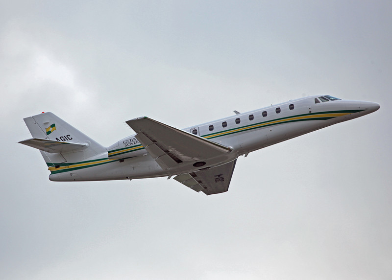 M-AGIC Cessna Citation Soverign 680 (MAN) Trust Air Ltd - Westair Flying Services Ltd 3