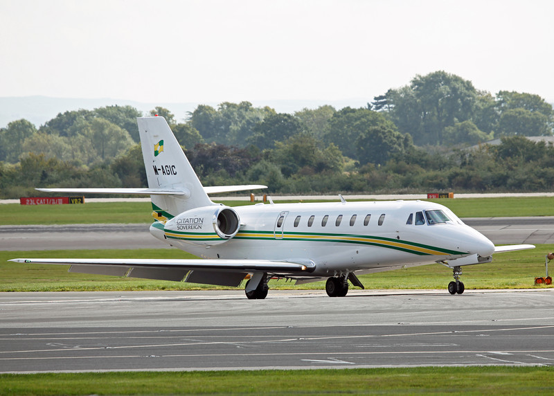 M-AGIC Cessna Citation Soverign 680 (MAN) Trust Air Ltd - Westair Flying Services Ltd 5