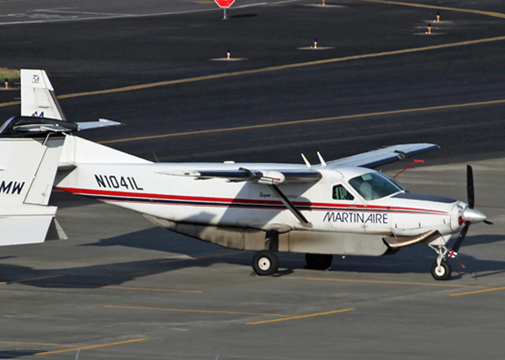N1041L Cessna 208B Super Cargomaster (Portland, OR) Atlantic Aero INC (Martinaire)