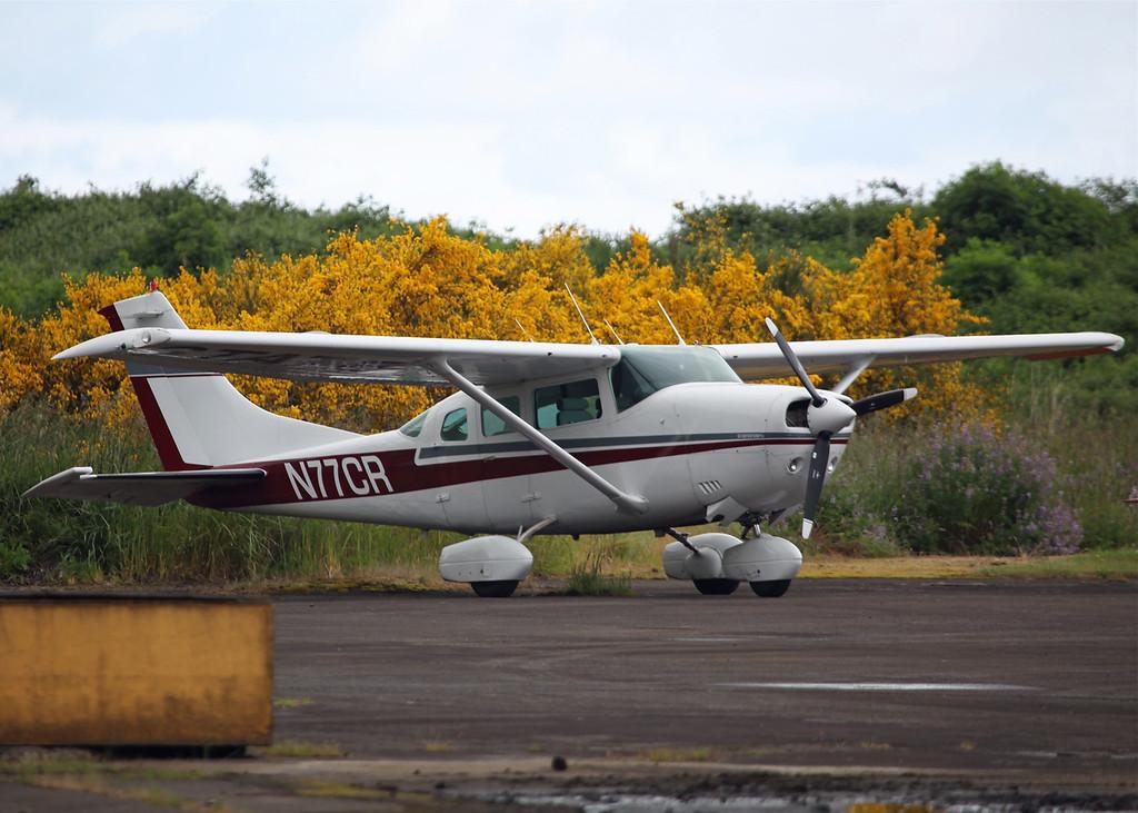 N77CR Cessna U206F (Tillamook Air Museum - Oregon, USA) Oregon State Police