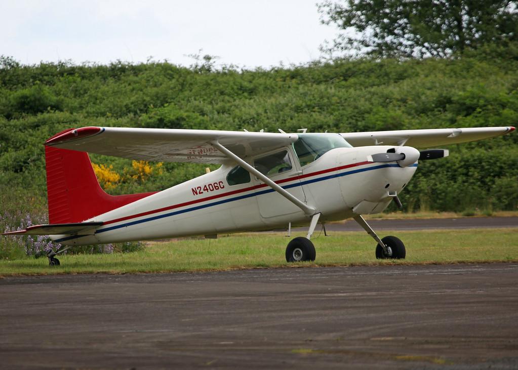 N2406C Cessna 180 (Tillamook Air Museum, Oregon, USA) Ropps Spraying Services Inc