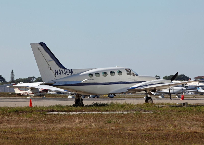 N414EM Cessna 414A (Sarasota International Airport) FV Aviation LLC