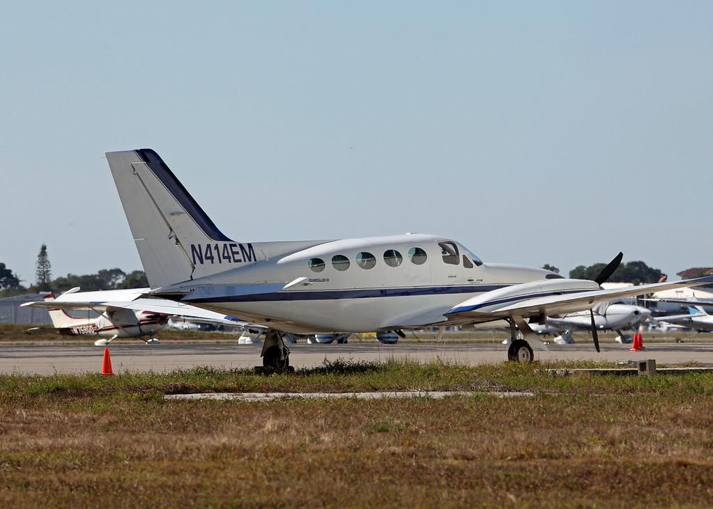 N414EM Cessna 414A (Sarasota International Airport) FV Aviation LLC