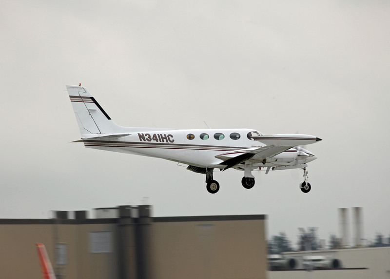 N341HC Cessna 340A (Boeing Field) Private 2