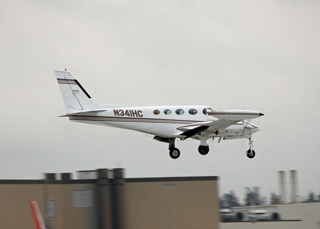 N341HC Cessna 340A (Boeing Field) Private 2