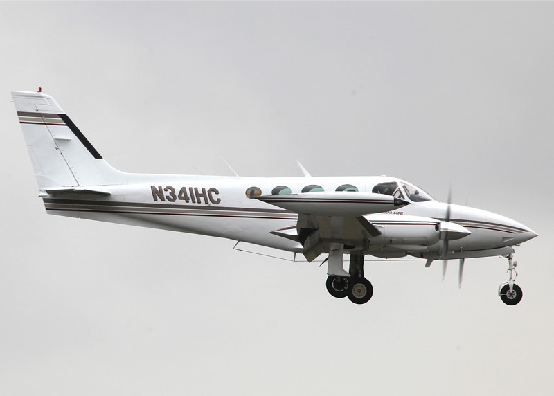 N341HC Cessna 340A (Boeing Field) Private