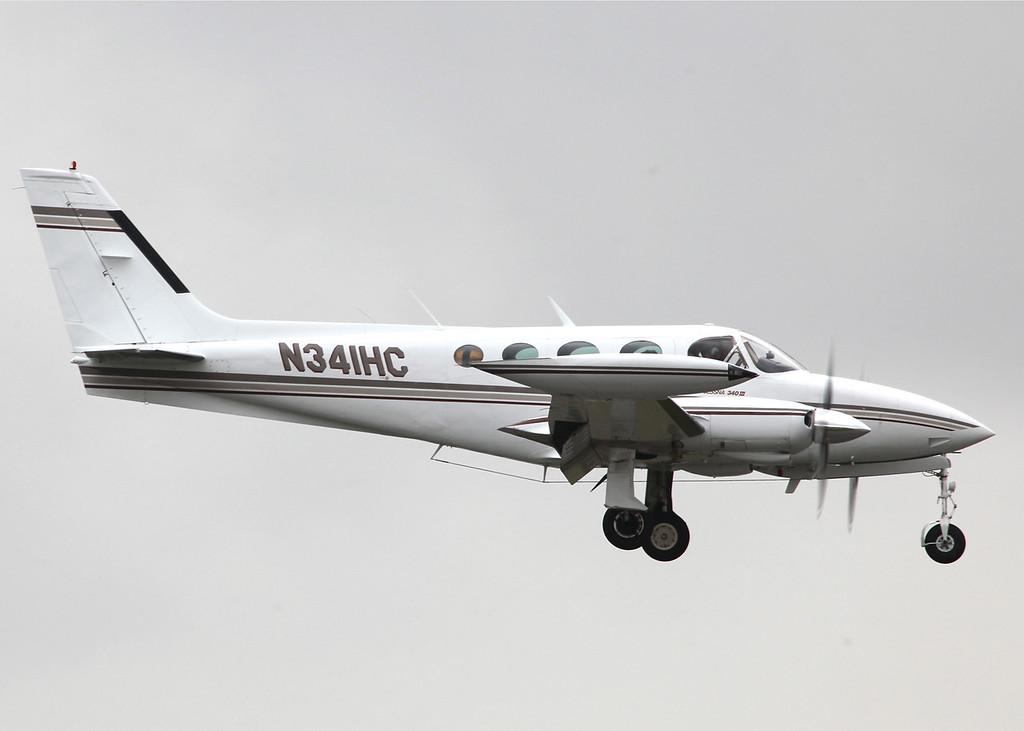 N341HC Cessna 340A (Boeing Field) Private