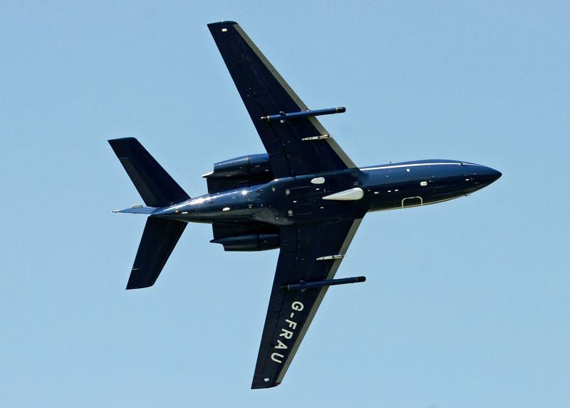 G-FRAU Dassault Falcon (RNAS Culdrose) Cobham Leasing