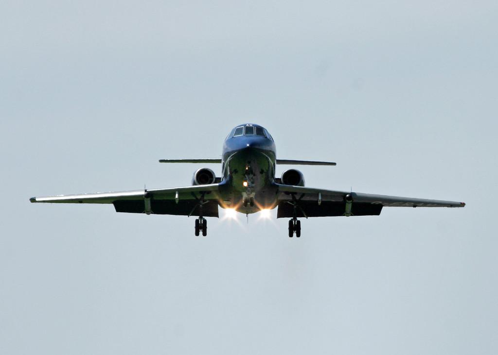 G-FRAU Dassault Falcon (RNAS Culdrose) Cobham Leasing 3