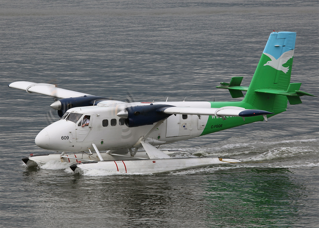 C-FGQE Dehavilland DHC-6 SERIES 100 (Vancouver Harbour) West Coast Air