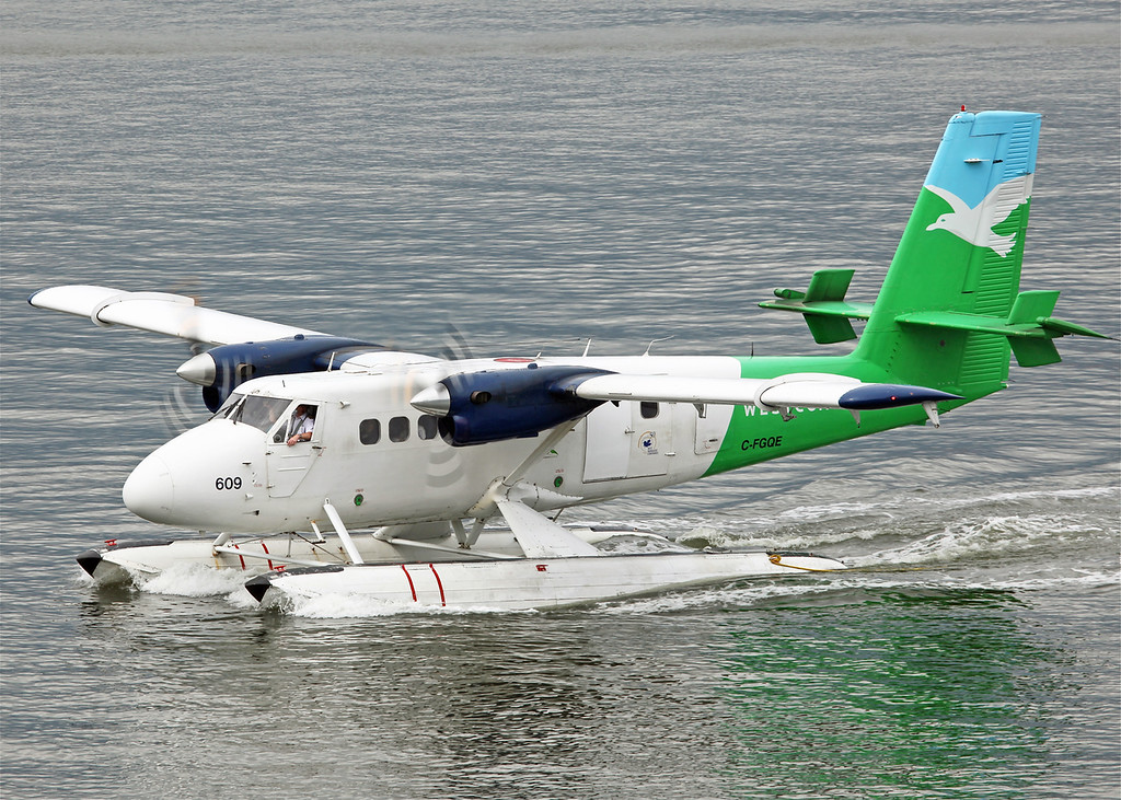 C-FGQE De Havilland Canada DHC-6-100 Twin Otter (Vancouver Harbour) West Air