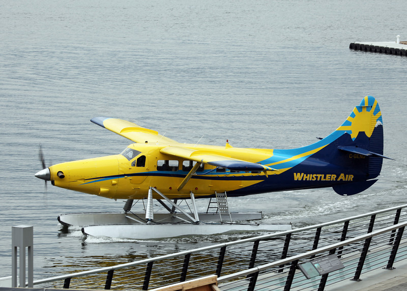 C-GEND Dehavilland DHC-3 (Vancouver Harbour) Whistler Air Services Ltd