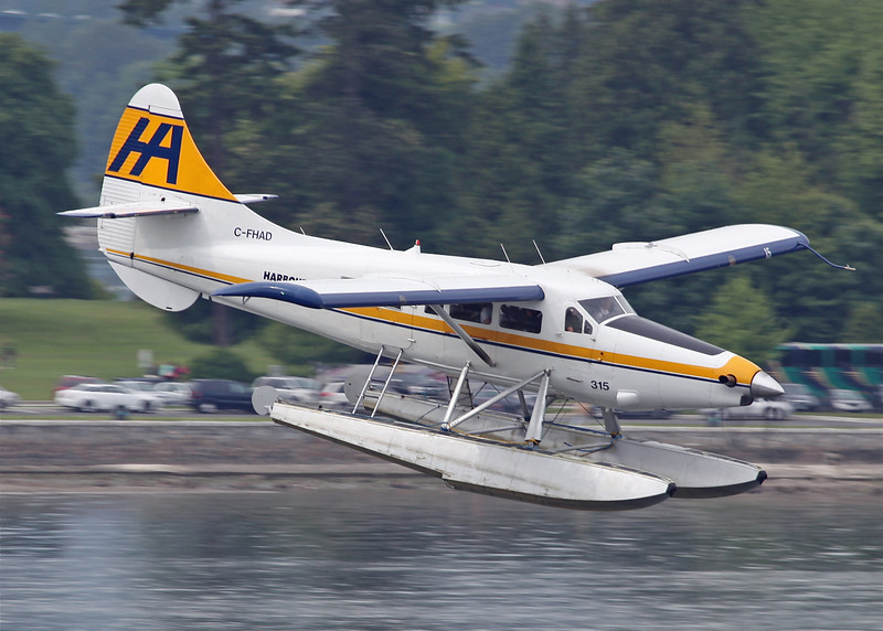 C-FHAD Dehavilland DHC-3 (Vancouver Harbour) Harbour Air Ltd