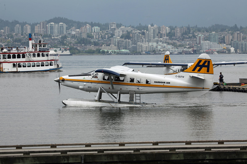 C-GUTW Dehavilland DHC-3 (Vancouver Harbour) Harbour Air Ltd