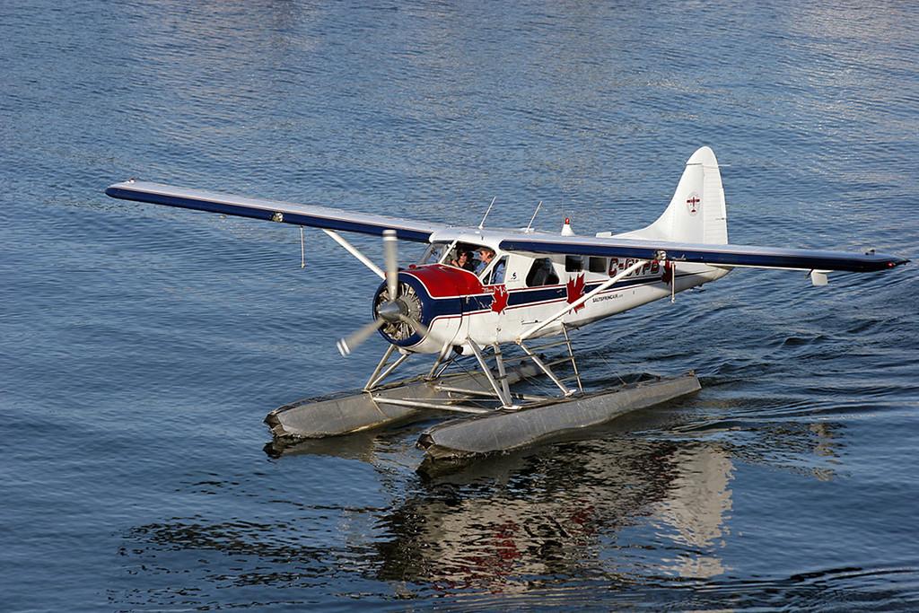 C-GVPB DHC-2 Beaver (Vancouver Harbour) Salt Spring Island Air Ltd