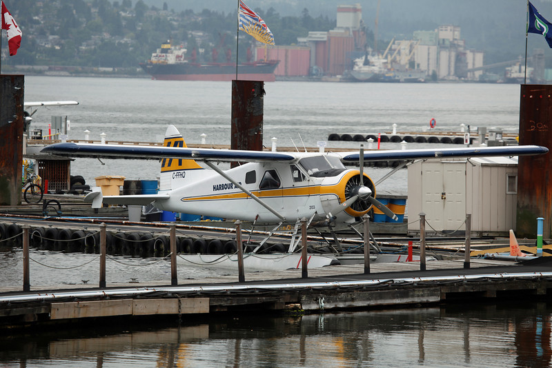 C-FFHQ DeHavilland DHC-2 MK 1 (Vancouver Harbour) Harbour Air Ltd