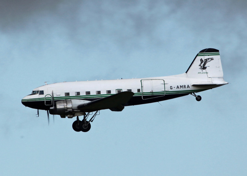 G-AMRA DOUGLAS DC-3C (Boscombe Down) Air Atlantique LTD 2