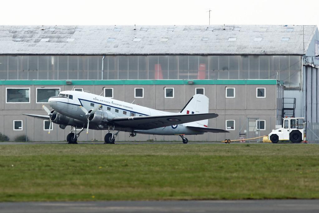 KK116 [G-AMPY] Douglas DC-3C-R-1830-90C (Coventry) Air Atlantique
