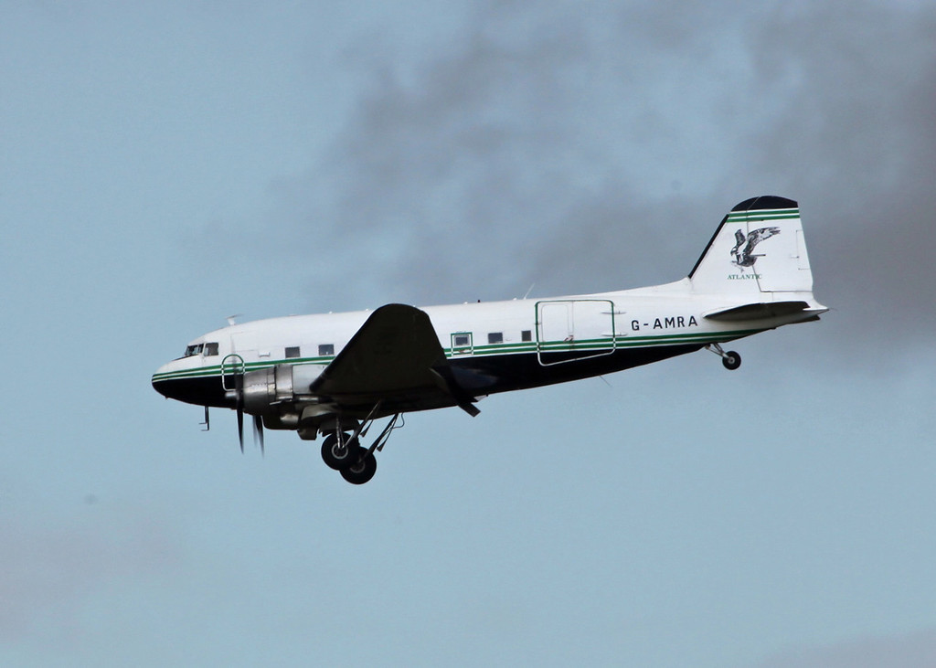 G-AMRA DOUGLAS DC-3C (Boscombe Down) Air Atlantique LTD