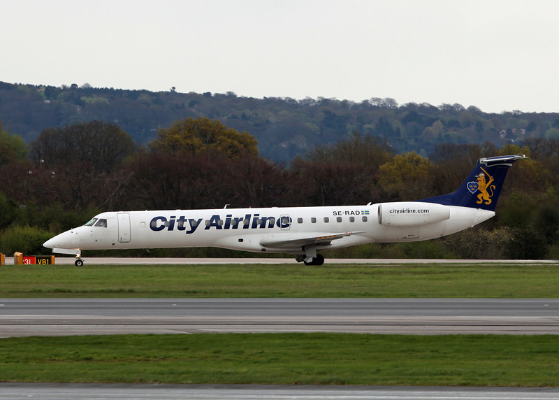 SE-RAD Embraer ERJ145EU (MAN) City Airlines