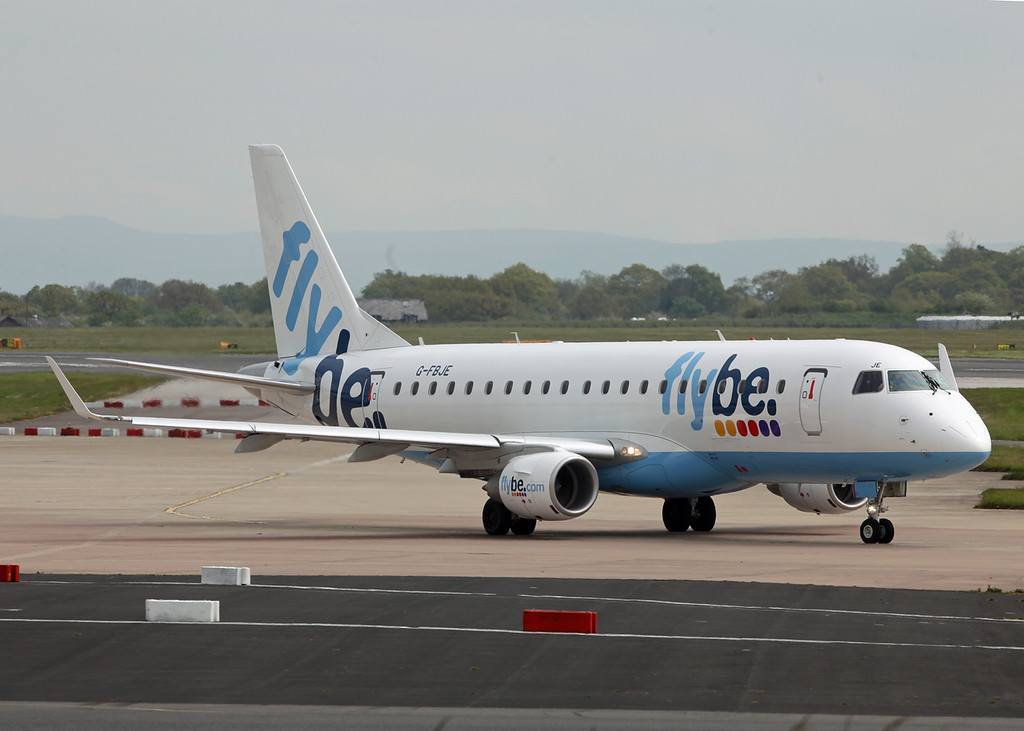 G-FBJE Embraer ERJ-175STD [ERJ 170-200] (MAN) Flybe
