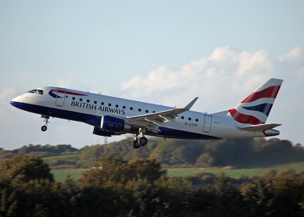 G-LCYF Embraer ERJ170-100 STD (Edinburgh) British Airways Cityflyer