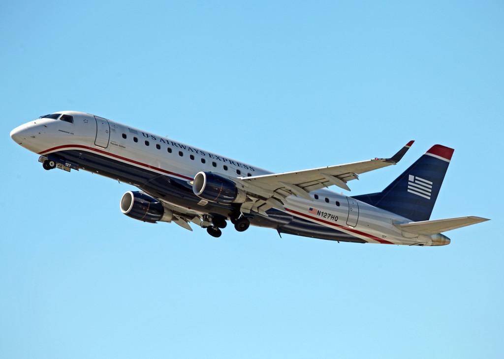 N127HQ ERJ170-200LR (SRQ) US Airways Express 2